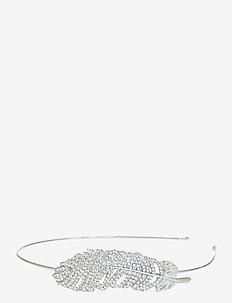 Piuma Diadema Crystal Silver - hoofdbanden - silver