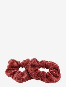 Cordy Scrunchy 2 pcs Fuchsia - accessories - purple