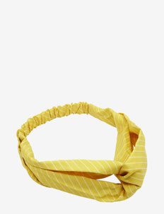 Raida Headband Yellow - haar accessoires - yellow