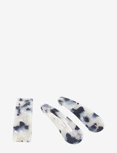Bamba Clip 3 pcs Licorish - accessories - black