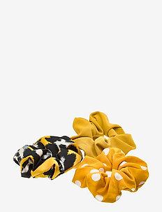 Laine Scrunchy Set Yellow B - YELLOW
