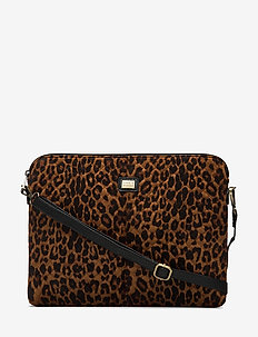 "Velvet Laptop Pipol Cover 13"" Leo Brown - BROWN"