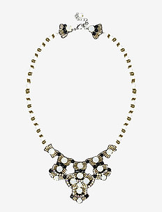 Rey PIPOL Necklace Shimmer - statement necklaces - gold