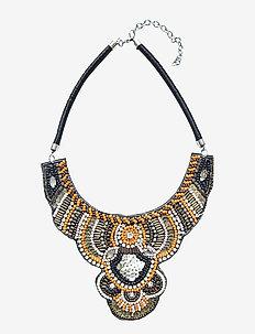 Happia PIPOL Necklace Multi Orange - statement necklaces - multi