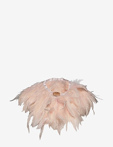 Majestic Feather Pipol Collar Pale Pink - PINK