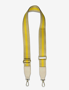 Strap Striped Yellow - axelband - multi