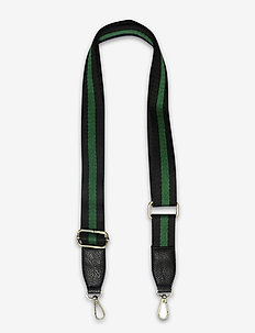 Strap Striped Green - axelband - multi