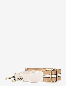 Strap Striped Beige - bag straps - multi
