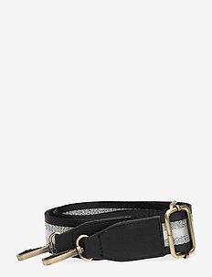 Strap Striped Blacky Silver - bag straps - multi