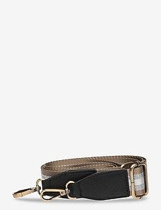 Strap Striped Beigy Silver - bag straps - multi
