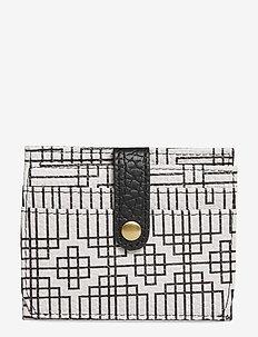 Stile Pipols Card Holder - BLACK & WHITE