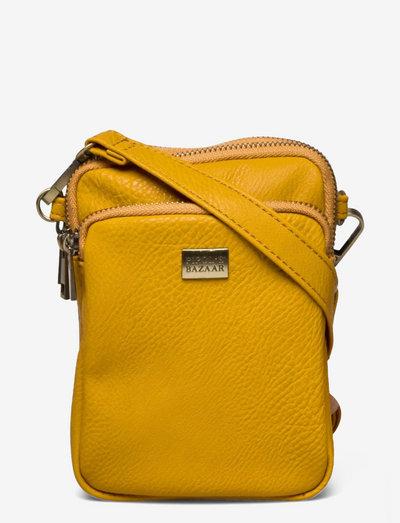 Triple Zip Back - crossbody bags - yellow