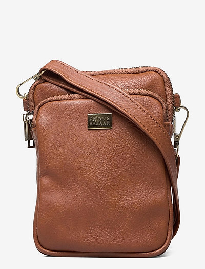 Triple Zip Back - olkalaukut - brown
