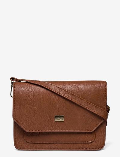 Neo Shoulder Bag - olkalaukut - brown