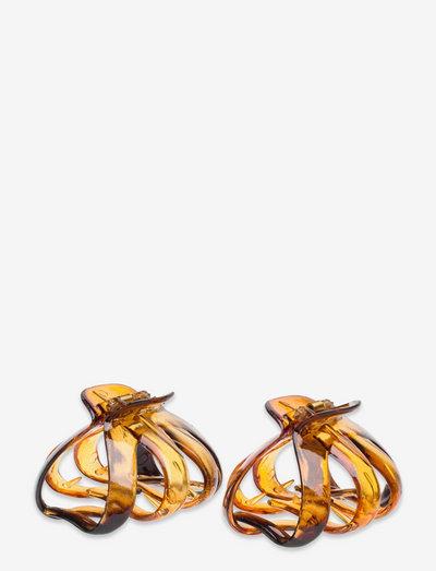 Sisilja Clamp - hiuspinnit & -klipsit - brown