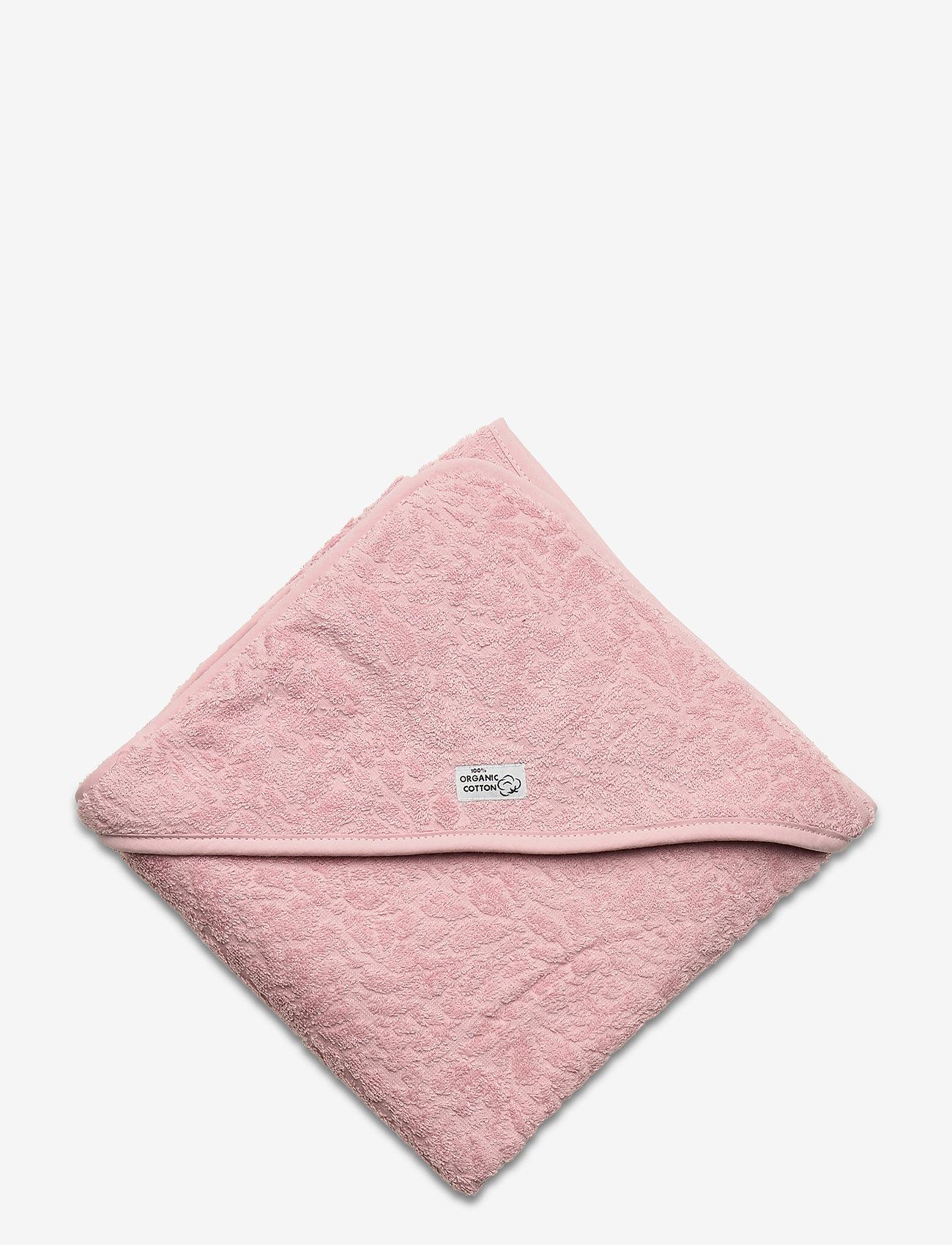 Pippi - Organic hooded towel - akcesoria - pale mauve - 1