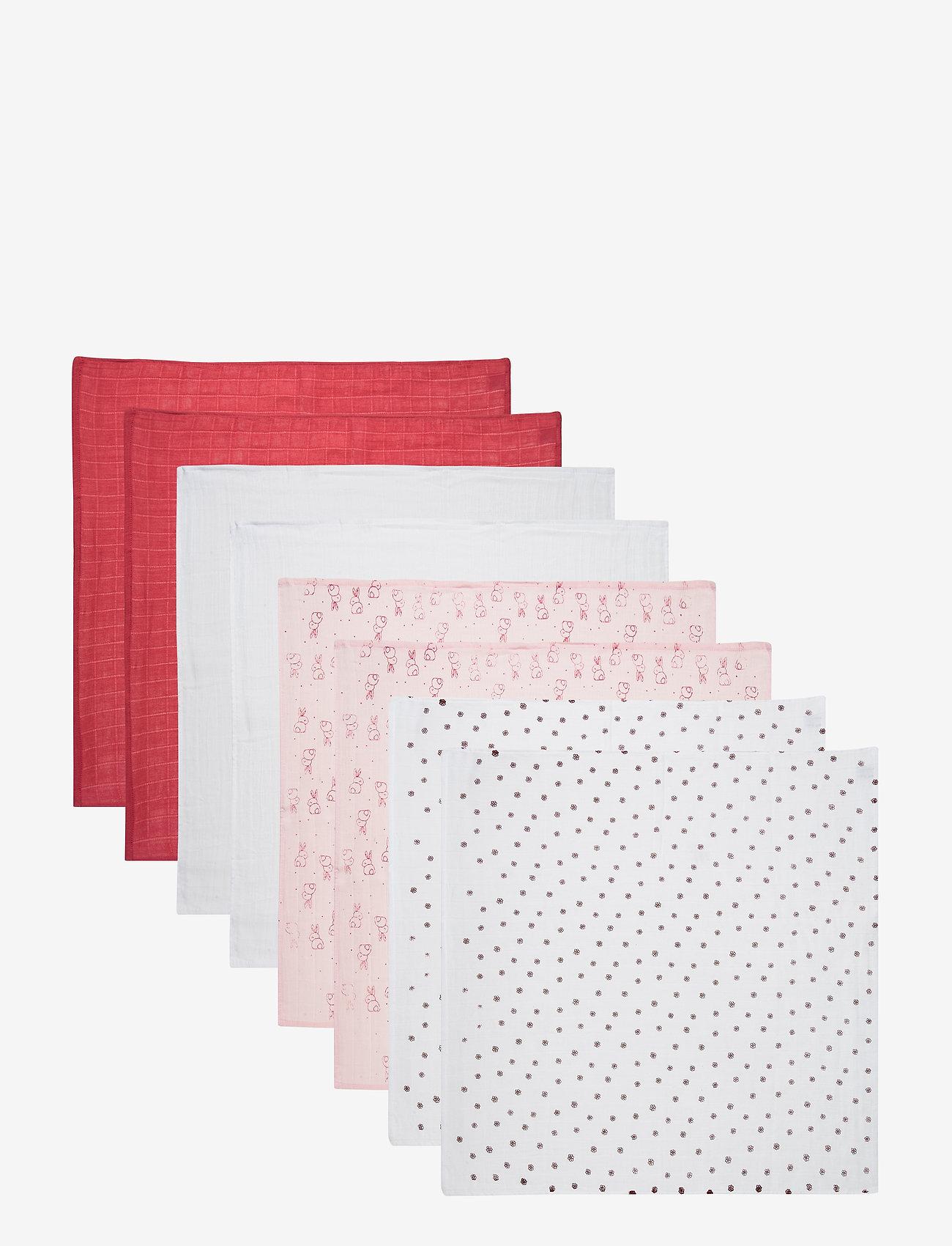Pippi - Cloth Muslin AOP (8-pack) - pieluszki materiałowe - baroque rose - 0