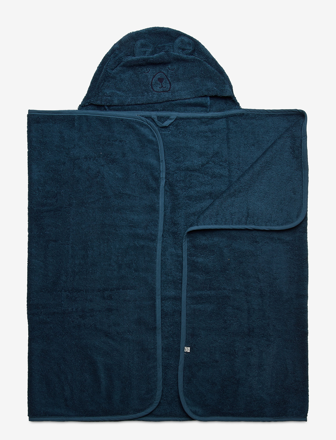 Pippi - Organic hooded bath towel - akcesoria - iceblue - 0