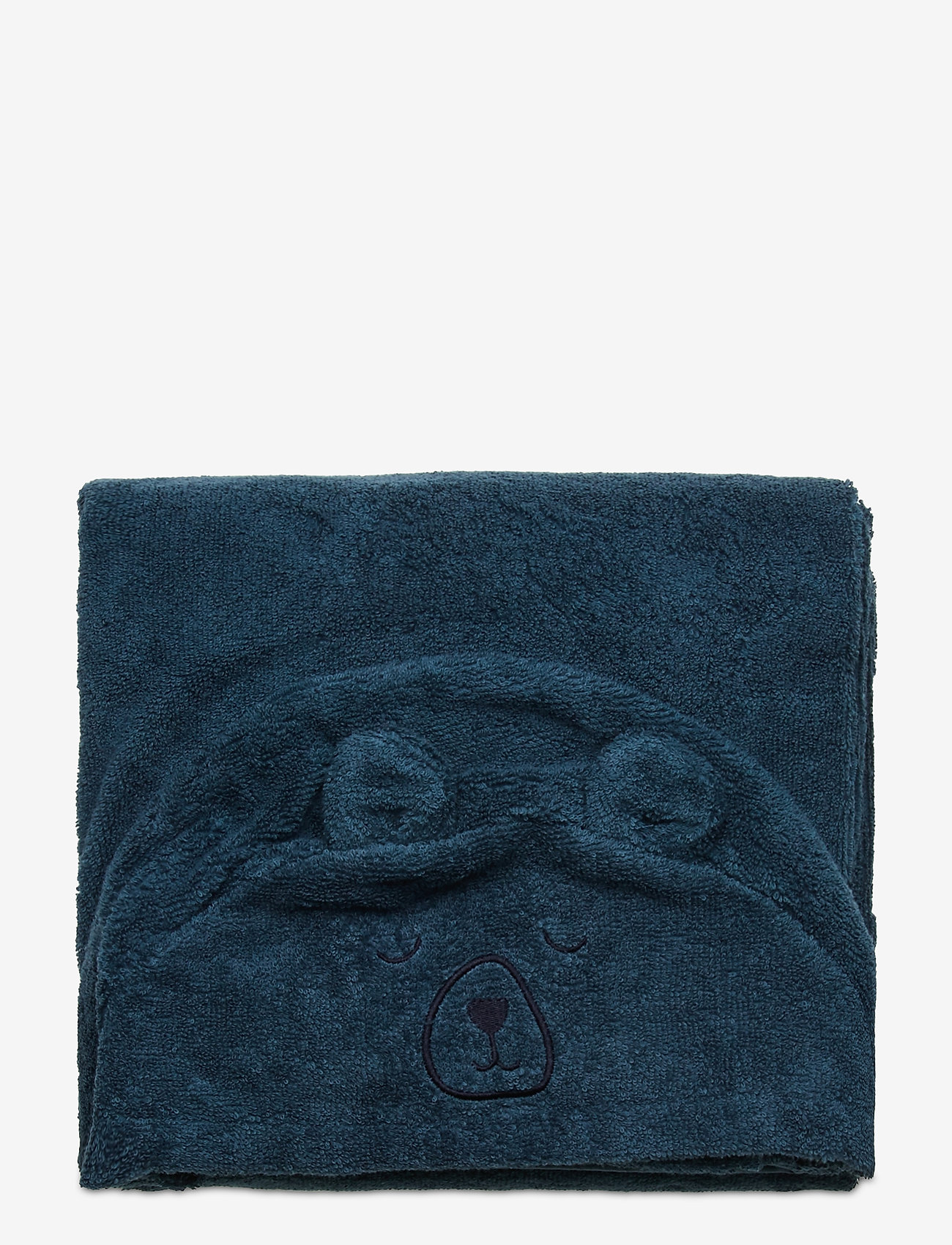 Pippi - Organic hooded bath towel - akcesoria - iceblue - 1