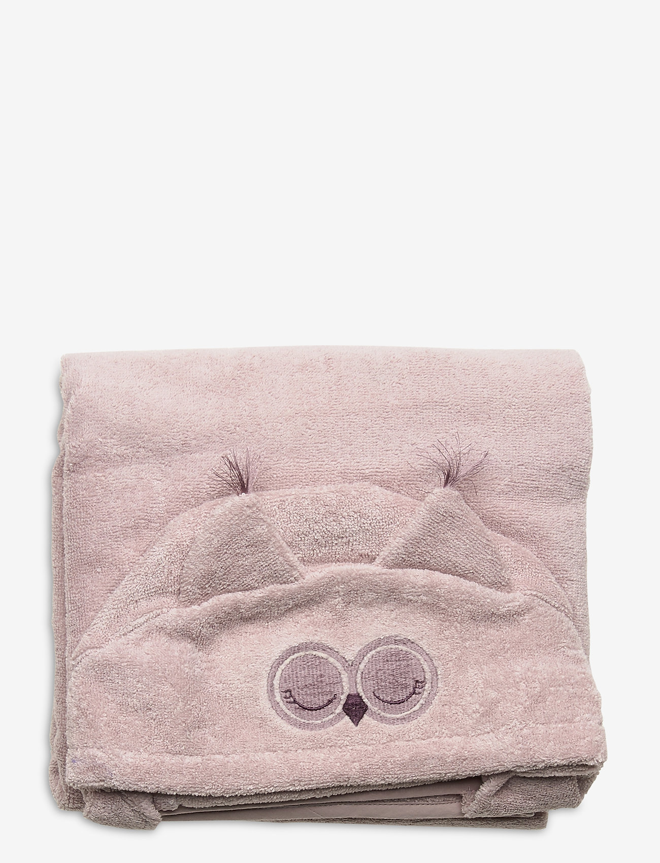 Pippi - Organic hooded bath towel - akcesoria - violet ice - 1