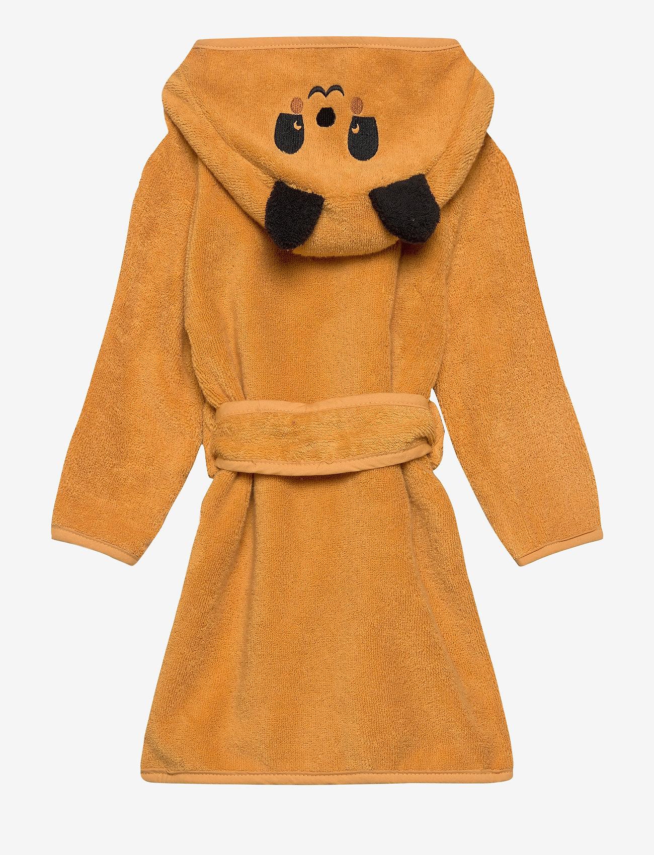 Pippi - Organic bath robe - bathrobes - mineral yellow - 1
