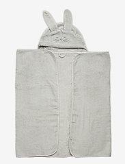 Pippi - Organic hooded bath towel - akcesoria - harbor mist - 0