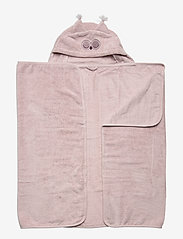 Pippi - Organic hooded bath towel - akcesoria - violet ice - 0
