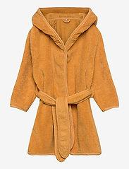 Pippi - Organic bath robe - bathrobes - mineral yellow - 0