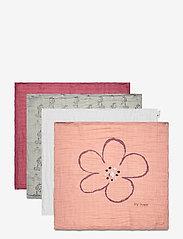 Pippi - Organic cloth Muslin (8-pack) - pieluszki materiałowe - misty rose - 8