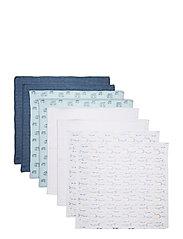 Cloth Muslin AOP (8-pack) - PROVINCIAL BLUE