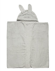 Organic hooded bath towel - HARBOR MIST
