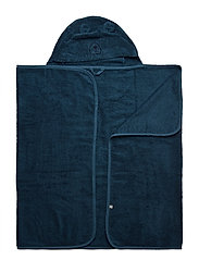 Organic hooded bath towel - ICEBLUE