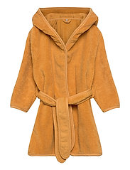 Organic bath robe - MINERAL YELLOW