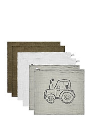 Organic cloth Muslin (8-pack) - LEAD