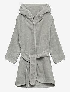 Organic bath robe - bathrobes - harbor mist