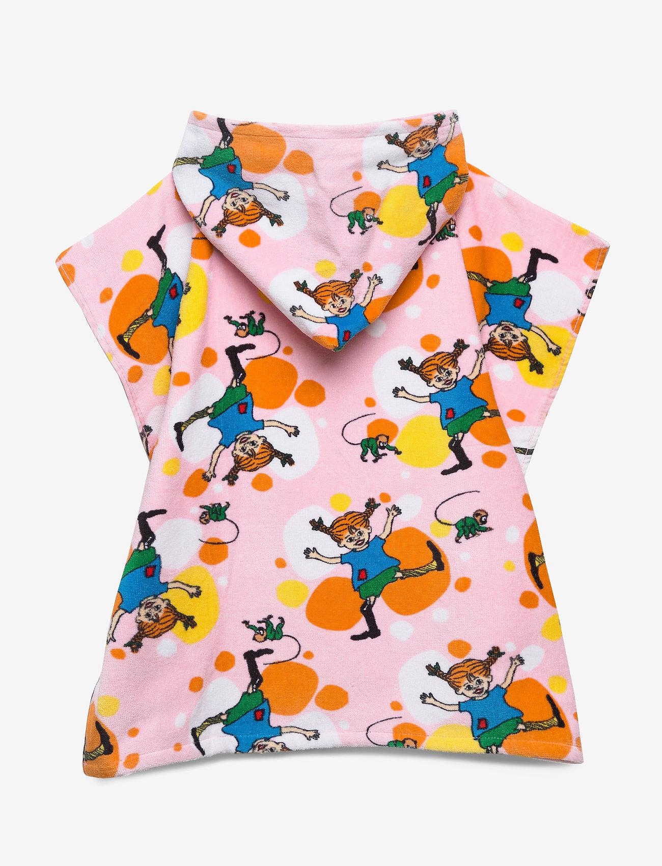 Pippi Långstrump - PIPPI  CARTWHEEL PONCHO TOWEL - ręczniki i szmatki - rose - 1