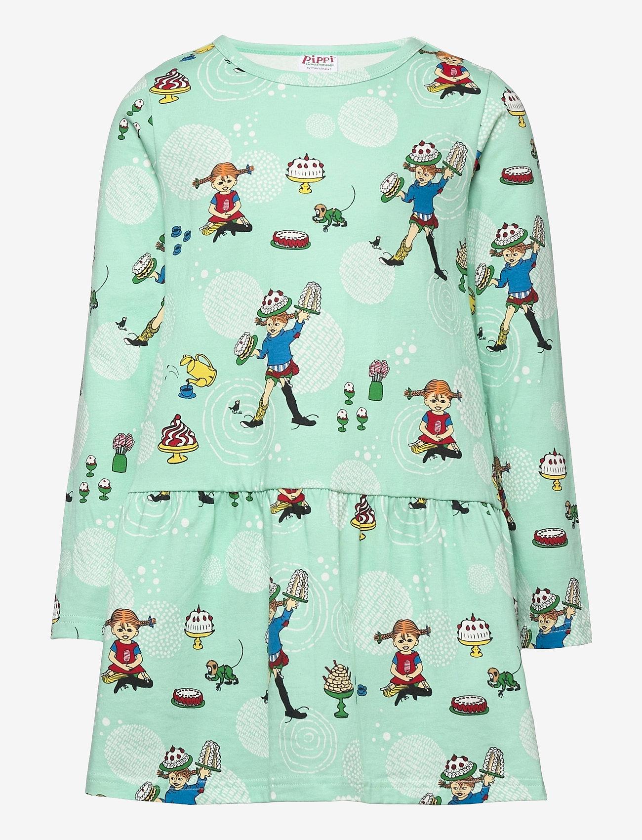 Pippi Långstrump - PARTY DRESS - kleider - green - 0