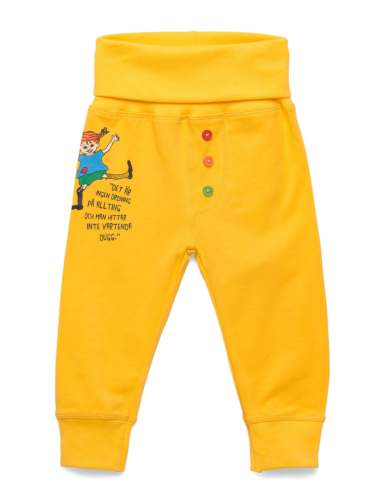 Pippi Långstrump QUOTE PANTS - YELLOW