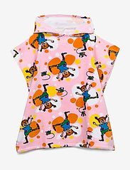 Pippi Långstrump - PIPPI  CARTWHEEL PONCHO TOWEL - ręczniki i szmatki - rose - 0