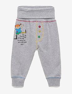 QUOTE PANTS - spodnie - gray