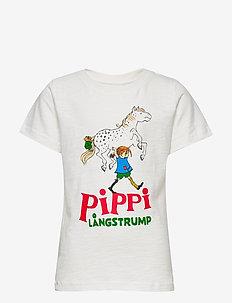 PIPPI T-SHIRT - krótki rękaw - white