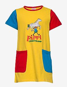 PIPPI POCKET TUNIC - sukienki - yellow