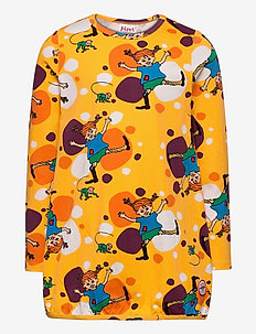 CARTWHEEL TUNIC - blouses & tunieken - yellow