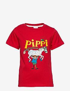 PIPPI T-SHIRT SWE - krótki rękaw - red