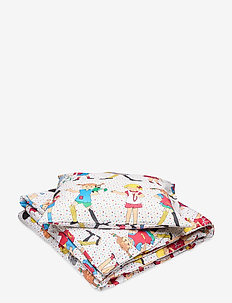 PIPPI AND FRIENDS DUVET SET - pościel - white
