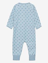 Pippi - Suit LS-velour jaquard - langärmelig - smoke blue malange - 1