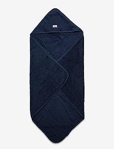 Organic hooded towel - bademode - dark blue