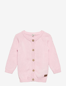 Cardigan LS, Summer Knit - PRIMROSE PINK