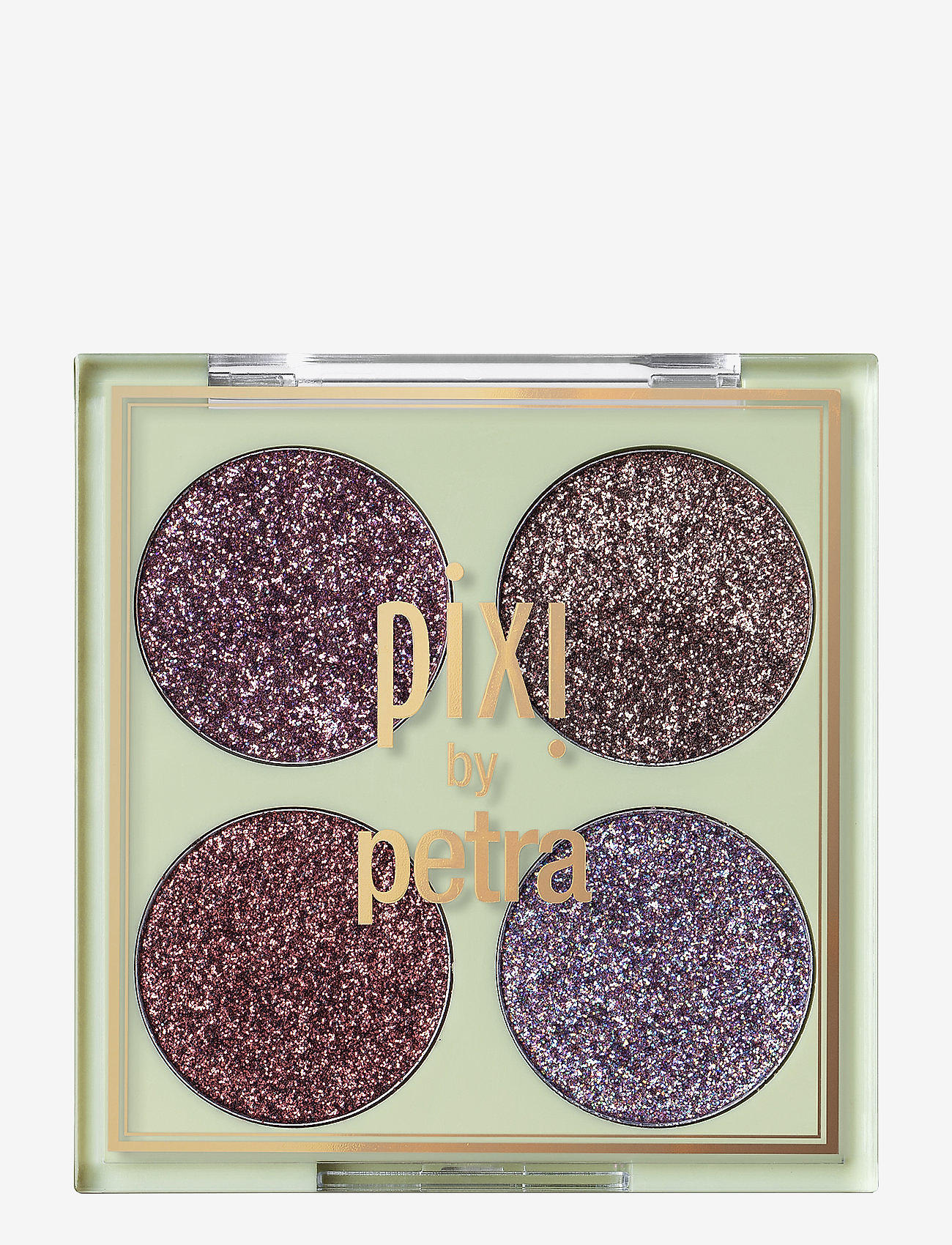 Pixi - Glitter-y Eye Quad - Ögonskuggspalett - rosebronze - 0