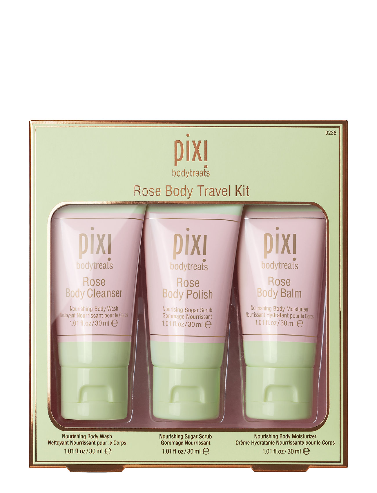 Pixi Rose Body Travel Kit - NO COLOR